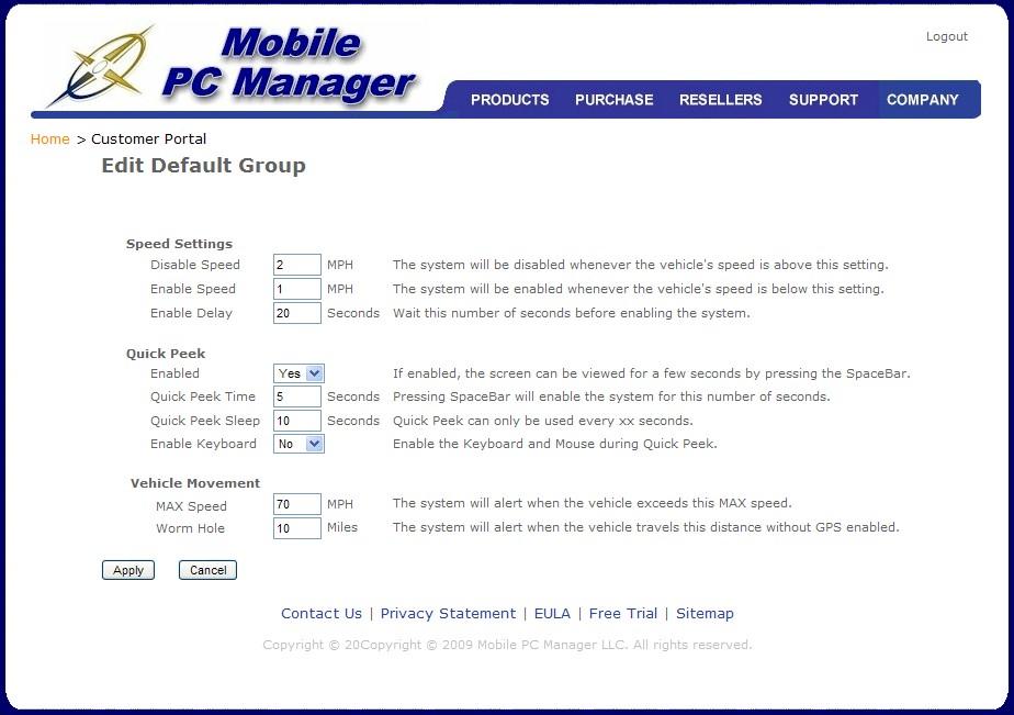 screensafe-customer-portal